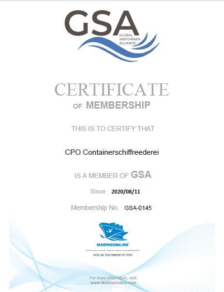 CPO Containerschiffreederei