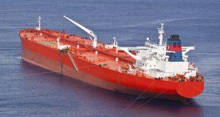 red methanol tanker