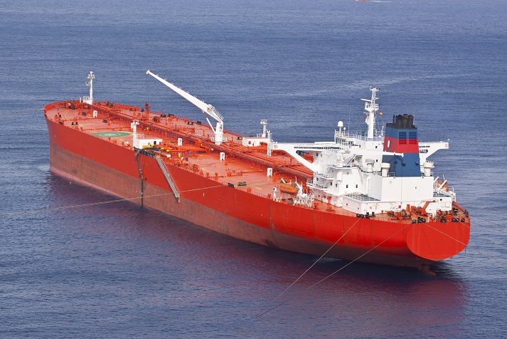 red methanol tanker