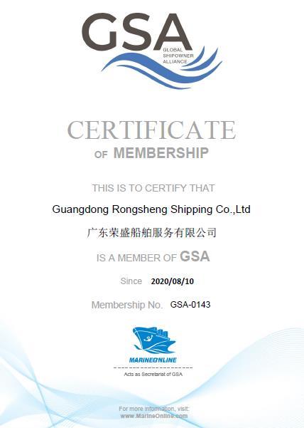 Guangdong Rongsheng Shipping