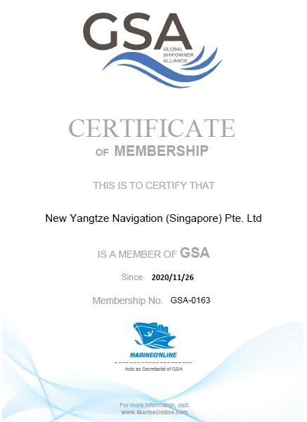 New Yangtze Navigation (Singapore)