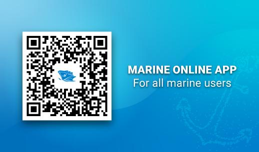 Download Marine Online app