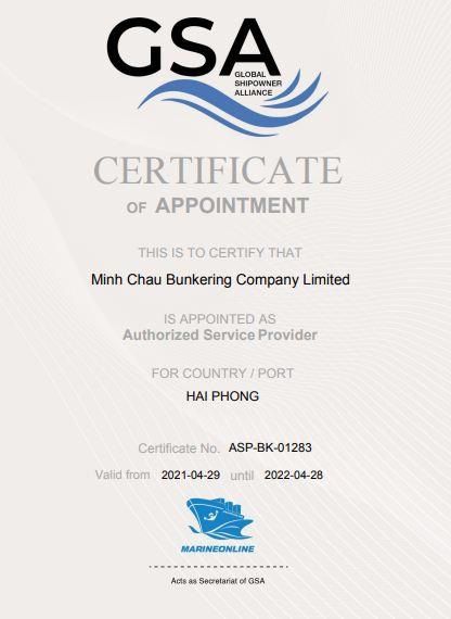 Minh Chau ASP cert